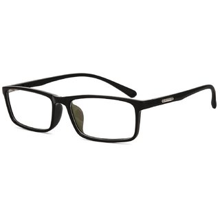 b82dc13a96 Buy Royal Son Black Full Rim Rectangular Unisex Spectacle Frame Online - Get  69% Off