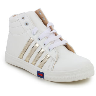 Fashtyle White Casual Shoes