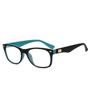 9158a36601 Buy Royal Son Black Full Rim Rectangular Unisex Spectacle Frame Online - Get  72% Off