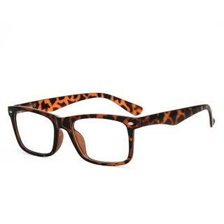 589daee05280b Buy Royal Son Brown Full Rim Rectangular Unisex Spectacle Frame Online - Get  72% Off