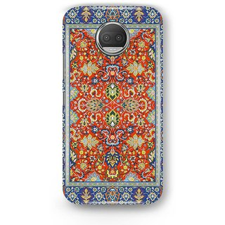 Desiways - Matte Printed Hard case Back Cover for Moto G5s With Ethnic Pattern  Design