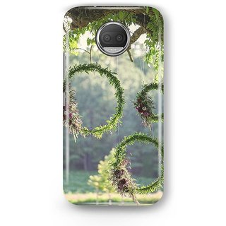 Desiways - Matte Printed Hard case Back Cover for Moto G5s With Beautiful Nature Design