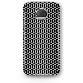 Desiways - Matte Printed Hard case Back Cover for Moto G5s With Blockhole Pattern Design