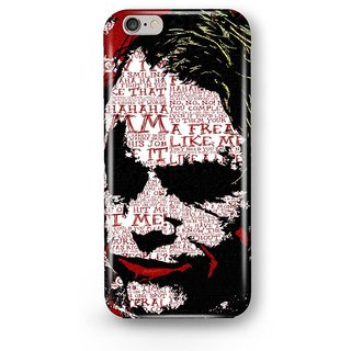 Desiways - Printed hard case back cover for   Iphone 7 Plus/ 7s Plus Calligraphy joker Design