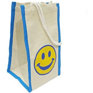 EcoFriendly Jute Bag Lunch Bag Gift bag Shopping Bag for Women Men with Handle