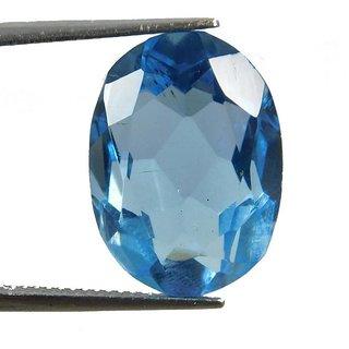 8.13 Ratti Best quality Blue Topaz stone  Lab Certified