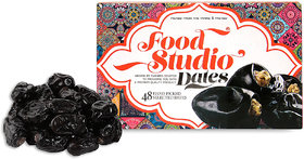 Food Studio Premium Quality Hand Picked Selected Dates (650 gm ,48 Pieces)