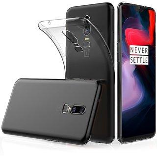 OnePlus 6 Soft Silicon Cases D  Y - Transparent