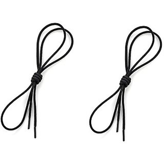 DAVS Footwear Polyester Round laces ( Pack of 2 )