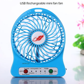 Portable Mini Rechargeable USB Table Fan