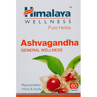 Himalaya Ashva gandha General Wellness Tablets - 60 Tablets each