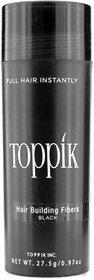 Topik-k Hair Building Fiber New Bottle 27.5Gm Black