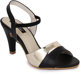 Funku Fashion Black Kitten Heels