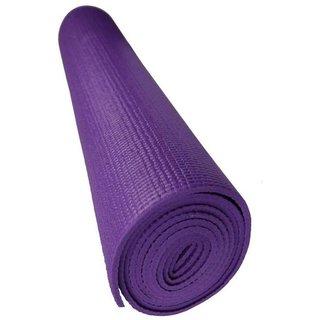 Tahiro Purple Plain Yoga Mat - Pack Of 1