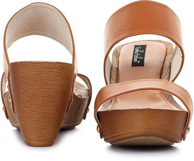 Funku Wedges Heels Wedges Wedges Tan Fashion Funku Tan Fashion Tan Heels Fashion Funku OZiuXPk