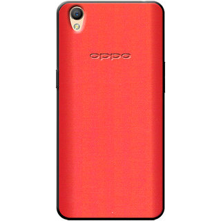 Buy Cellmate Fashion Case And Cover For Oppo A37 - Red