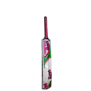 kookaburra popular willow cricket tennis bat with 4 tennis ball free