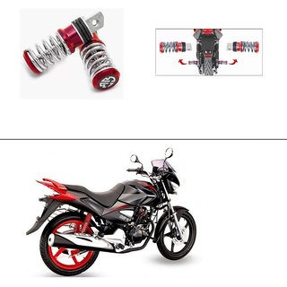Buy AutoStark Spring Coil Style Bike Foot Pegs Foot Rest ped