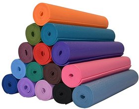Premium Quality 4mm Yoga Mat Unisex Assorted Colors