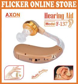BUY ORIGINAL AXON F-137 DIGITAL HEARING AID  MINI SOUND AMPLIFIER EARPLUG MACHINE