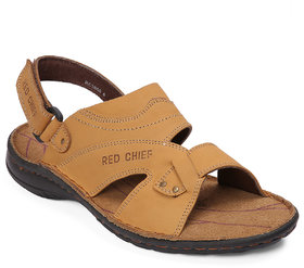 Red Chief Rust Casual Slip On Sandal (RC3560 022)