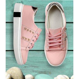 Meia Women Pink Casual Shoes