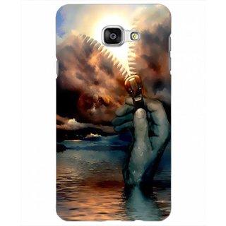 Printgasm Samsung Galaxy A9 Pro printed back hard cover/case,  Matte finish, premium 3D printed, designer case