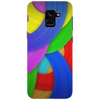 Printgasm Samsung Galaxy A5 2018 printed back hard cover/case,  Matte finish, premium 3D printed, designer case