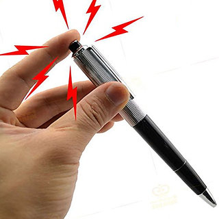 Nawani Shocking Ball Point Pen Electric Shock Toy Gift Joke Prank Trick Fun