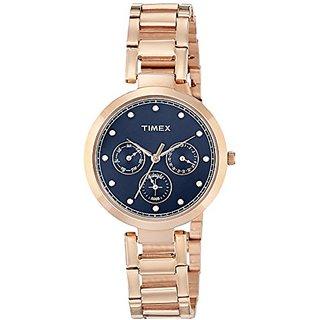 Timex Analog Blue Dial Womens Watch-TW000X215