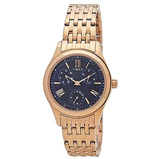 Timex Analog Blue Dial Womens Watch-TW000W219