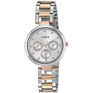 Timex Analog Silver Dial Womens Watch-TW000X214