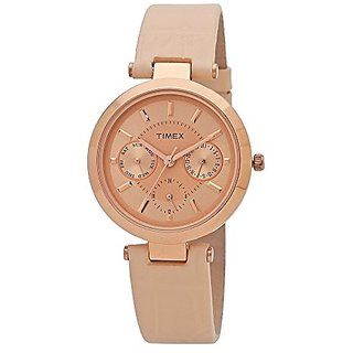 Timex Analog Pink Dial Womens Watch-TWEL11811