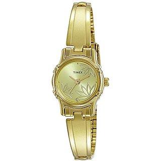 Timex Analog Gold Dial Womens Watch-TW000B817