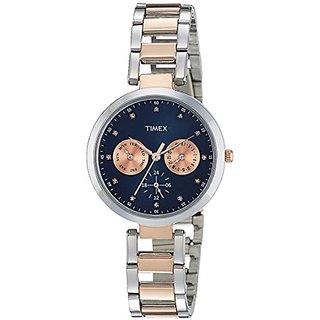 Timex Analog Blue Dial Womens Watch-TW000X210