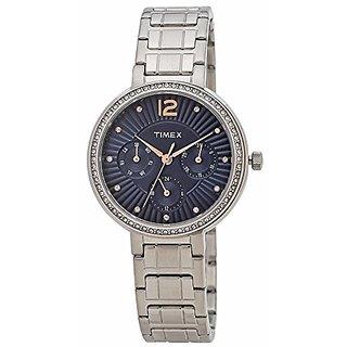 Timex Analog Blue Dial Womens Watch-TWEL11902