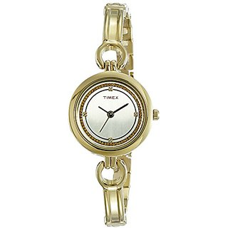 Timex Analog Silver Dial Womens Watch-TWEL11403