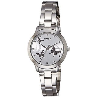 Timex Fashion Analog Silver Dial Womens Watch-TW000T606