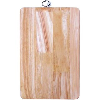 Woms Vegetable  Fruit chopping Wooden Cutting Board  (Pack of 1)