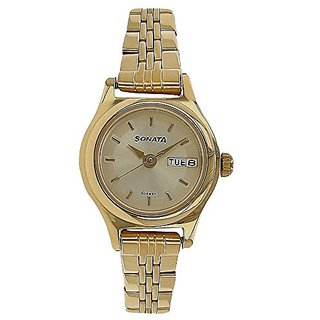 Sonata Analog Silver Dial Mens Watch-8021YM05