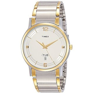 Timex Classics Analog Silver Dial Mens Watch - TW000R424