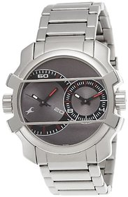 Fastrack Midnight Party Analog Grey Dial Mens Watch - 3