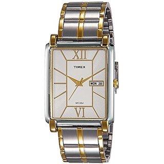 Timex Analog Silver Dial Mens Watch-TW000W908