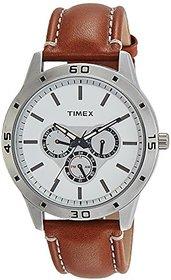 Timex Quartz Silver Dial Mens Watch-TW000U911