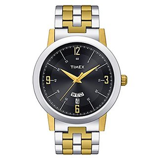 Timex Classics Analog Black Dial Mens Watch - TW000T122
