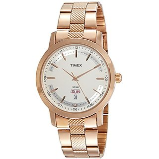 Timex Analog Silver Dial Mens Watch-TW000G917