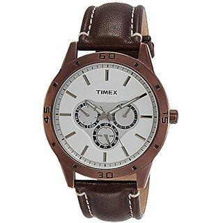 Timex Analog Silver Dial Mens Watch-TW000U916