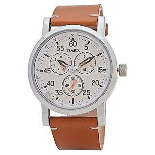 Timex Analog Silver Dial Mens Watch-TWEG16600