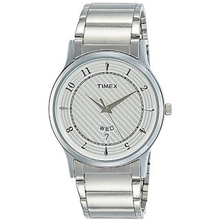 Timex Classics Analog Silver Dial Mens Watch - TI000R423