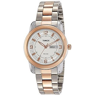 Timex Analog Silver Dial Mens Watch-TWEG15307